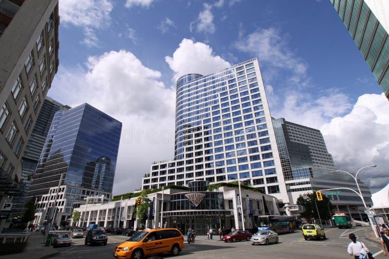 canada centrum konwencji Vancouver miejsca handlu fotografia royalty free