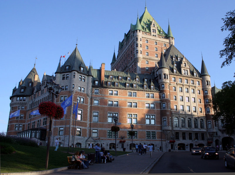 Canada Chateau Frontenac royalty free stock images