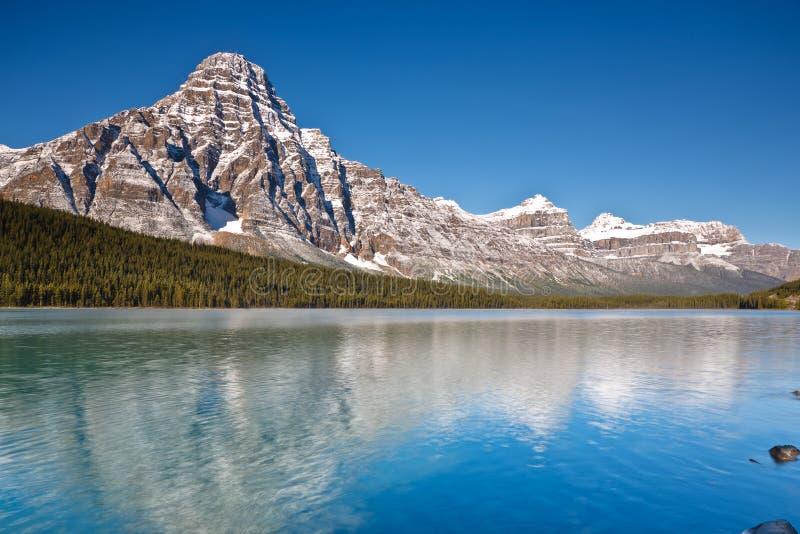 canada chephren gór jeziornych waterfowl obrazy stock