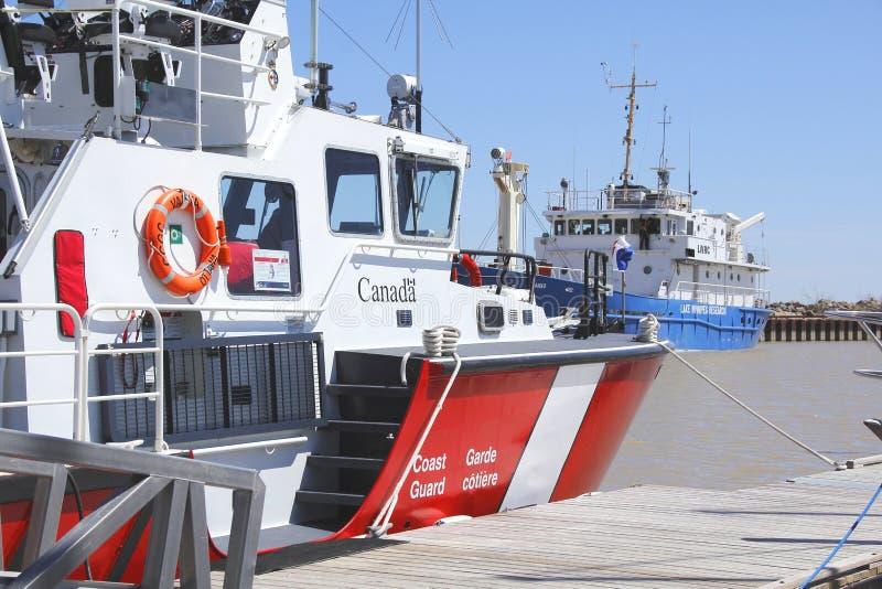 Canada Coast Guard Vessel stock image