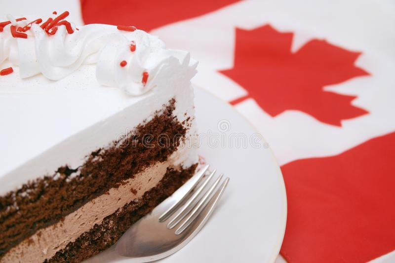Canada Day Celebrations Stock Image