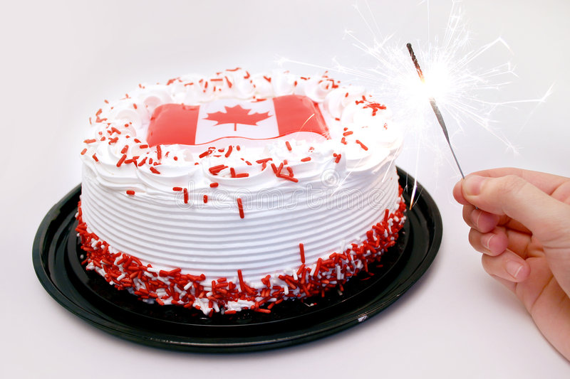Canada Day Celebrations royalty free stock photography