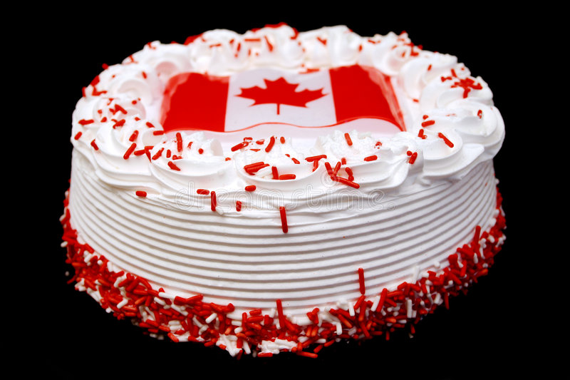 Canada Day Celebrations stock photo