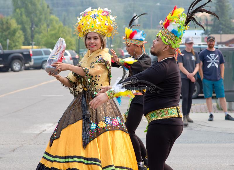 Canada Day Celebrations, Whitehorse, 2019. royalty free stock photography