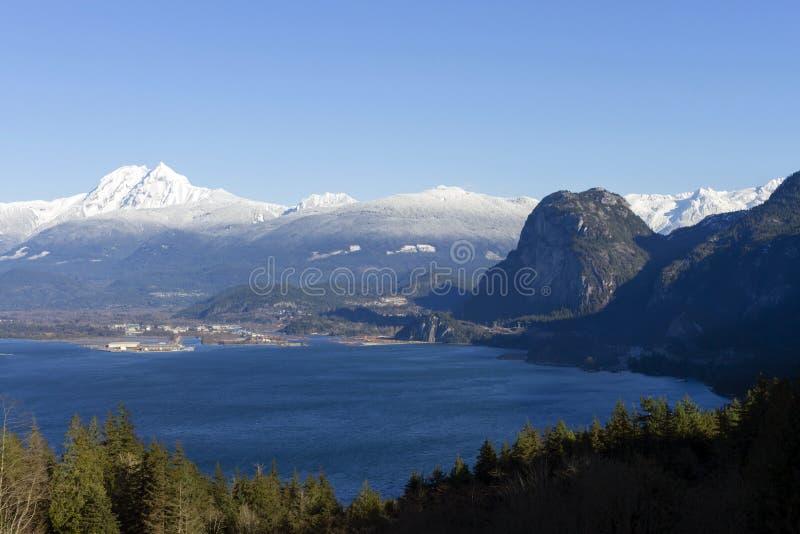 Canada de Colombie-Britannique de Squamish de chef de Stawamus photographie stock libre de droits
