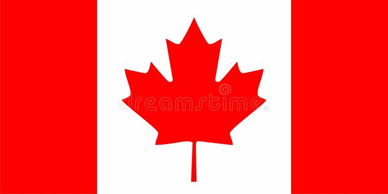 Download Canada flag stock vector. Image of american, vector, illustration - 11374310