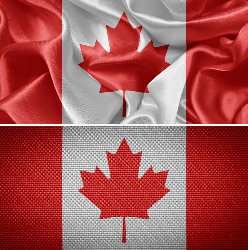 Canada Flag stock images