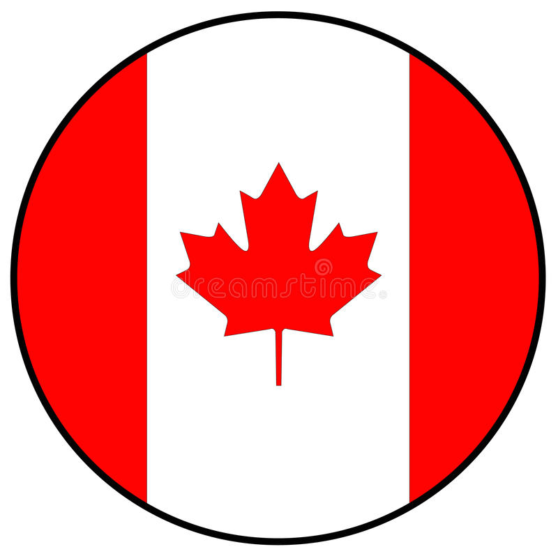 Canada flag. Vector file of Canada flag vector illustration