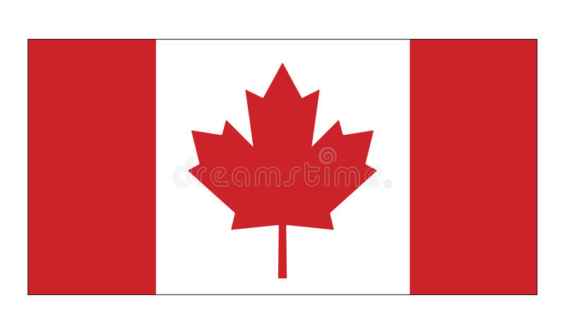 canada flag vector symbol icon design stock vector illustration rh dreamstime com canada flag vector image canada flag vector download