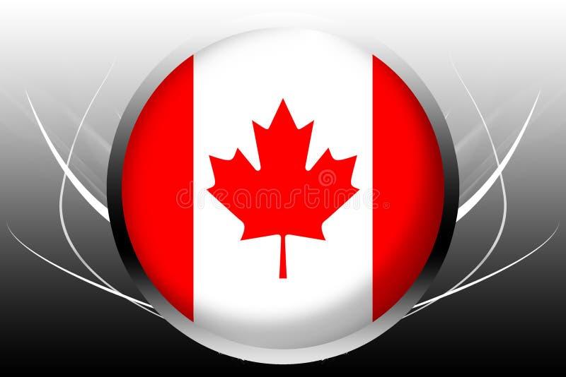 canada flaga ilustracji
