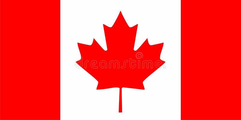 Download Canada flaga ilustracja wektor. Obraz złożonej z amerykanin - 11374310
