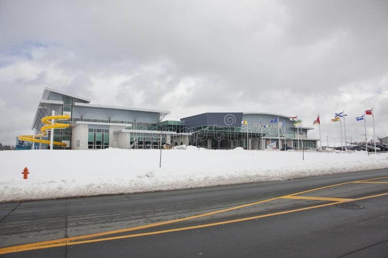 Canada Games Centre in Halifax royalty free stock images
