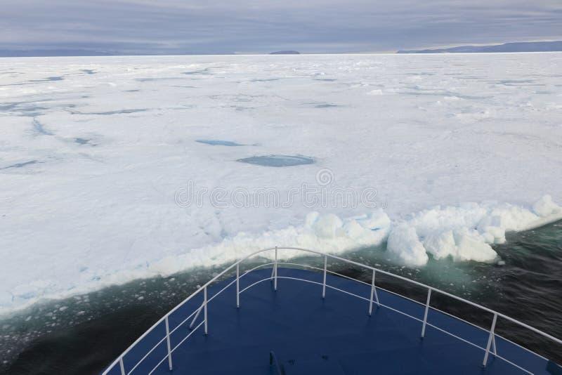 Canada, Hans eiland en Groenland. stock afbeeldingen