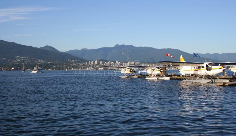canada hydroplanes Vancouver zdjęcie royalty free
