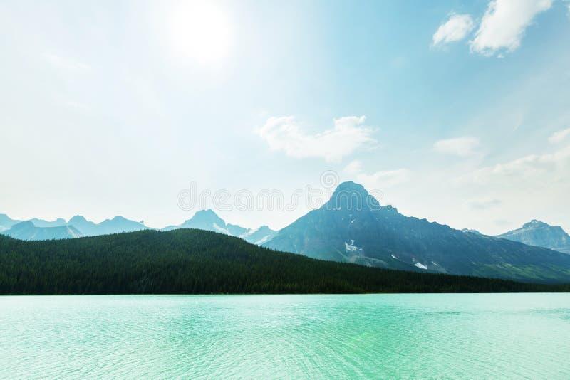 canada jezioro obraz royalty free
