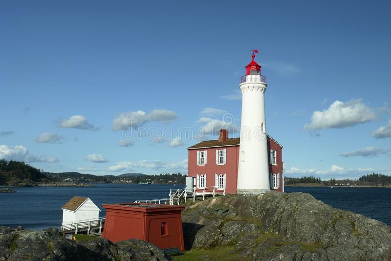 Canada Lighthouse BC Island stock photos