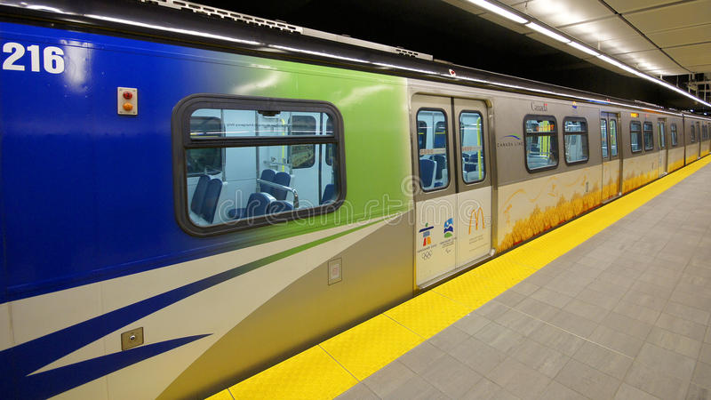 Download Canada Line Vancouver Transit Editorial Image - Image: 13082135