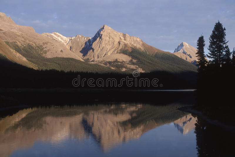Canada - Maligne Lake stock photo