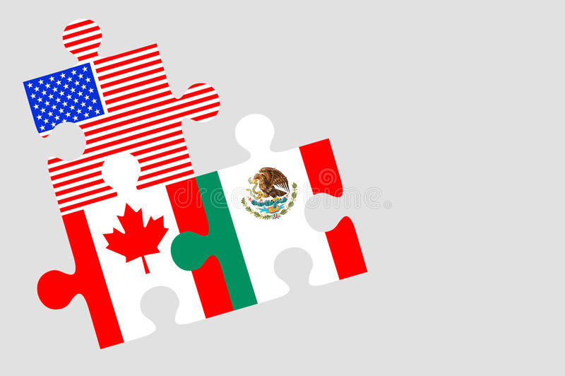 Canada mexico and us flag puzzle pieces stock illustration download canada mexico and us flag puzzle pieces stock illustration illustration of solution platinumwayz