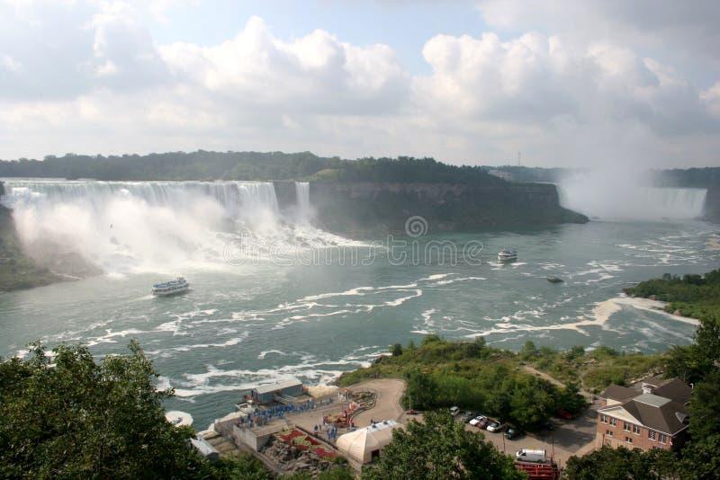 Download Canada Niagara Falls & Boats Stock Image - Image of boats, clouds: 1514321