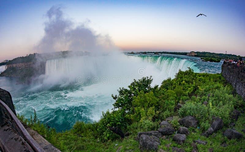 canada objętych Niagara zdjęcie royalty free