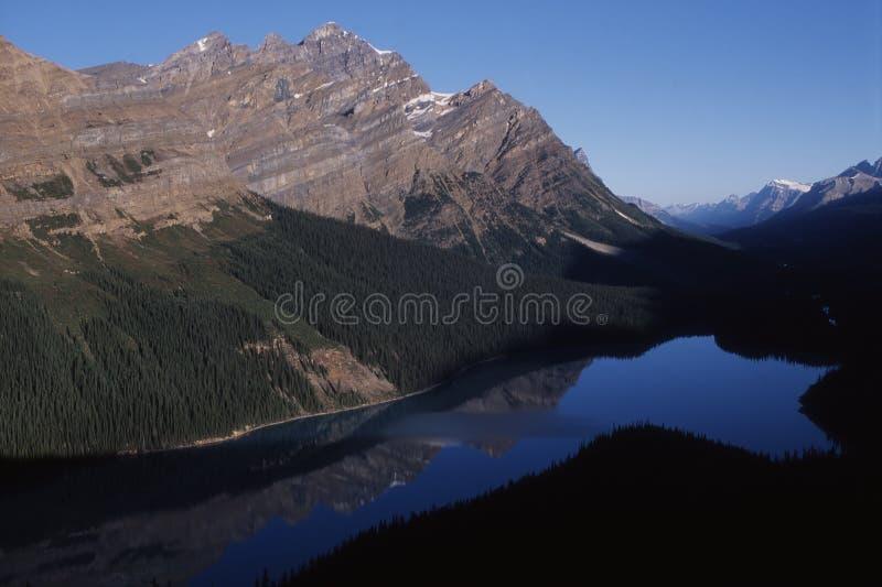 Canada - Peyto lake royalty free stock photography