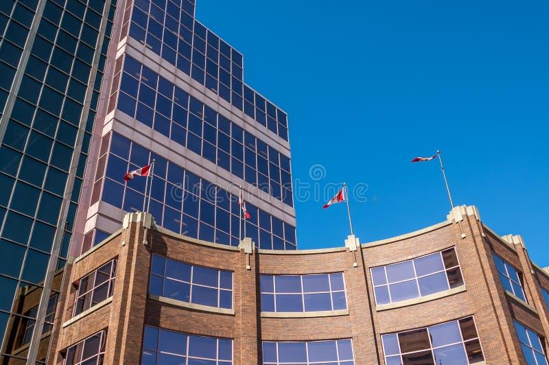 Canada Place, Edmonton. Canada Place, the federal Building in Edmonton Alberta stock photo