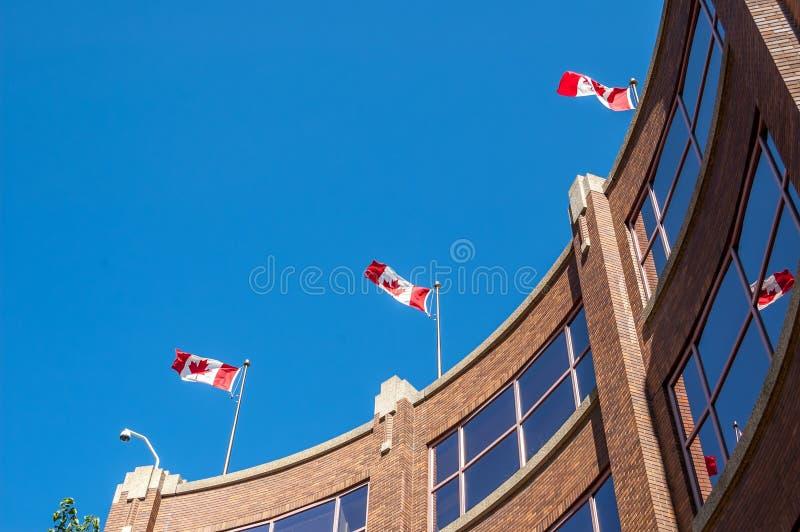 Canada Place, Edmonton. Canada Place, the federal Building in Edmonton Alberta royalty free stock photos