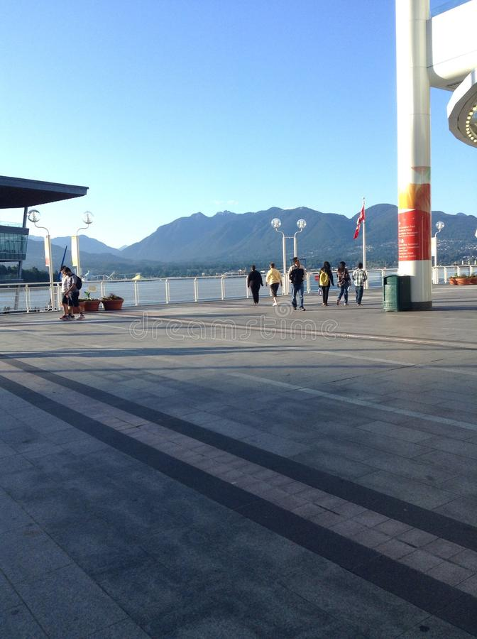 Canada place stock images