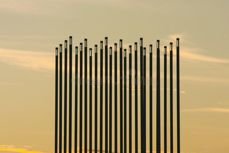 canada punkt zwrotny preryjny Saskatoon wiatr zdjęcia stock