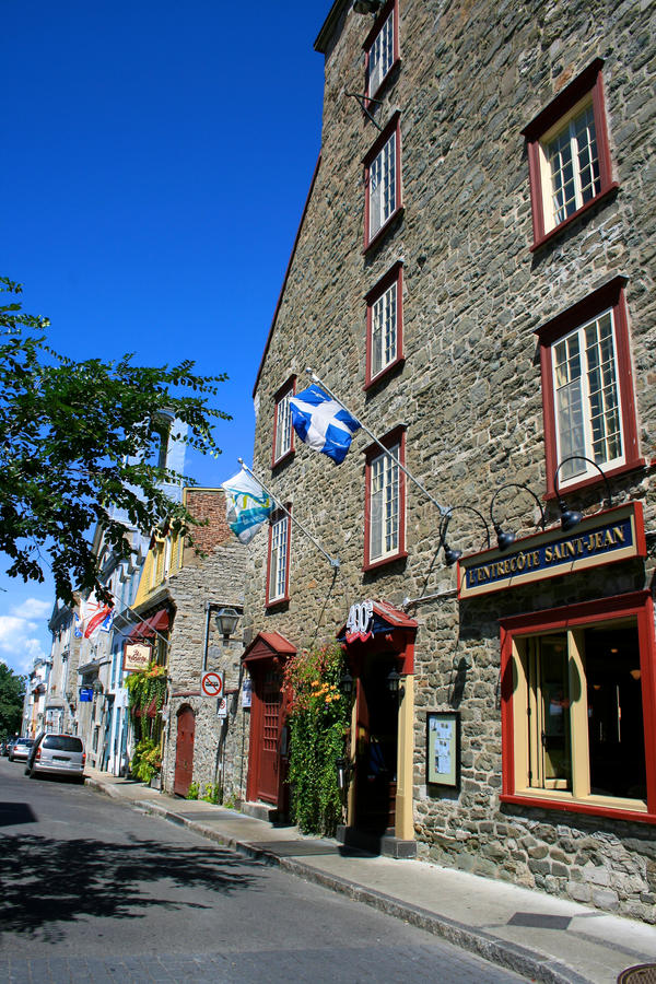 canada Quebec obraz stock