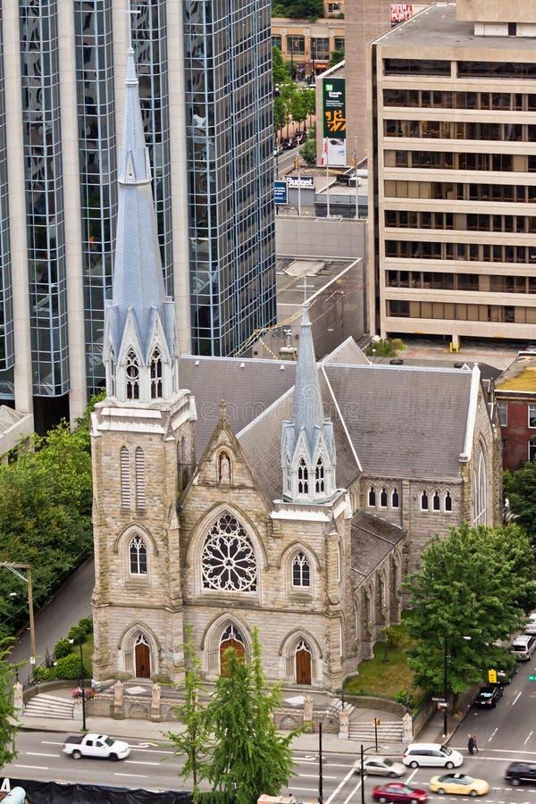 canada różaniec katedralny święty Vancouver fotografia royalty free