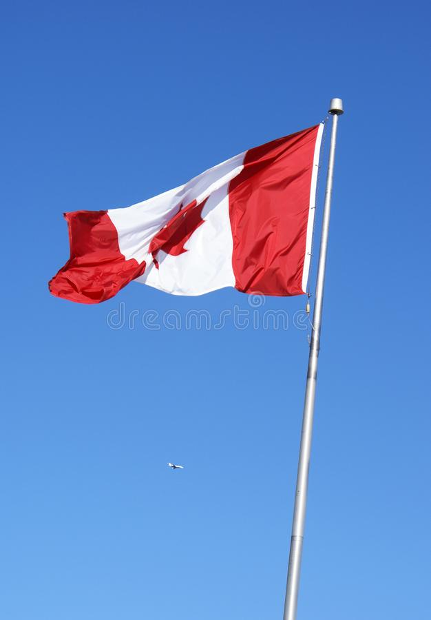 Canada's flag royalty free stock image
