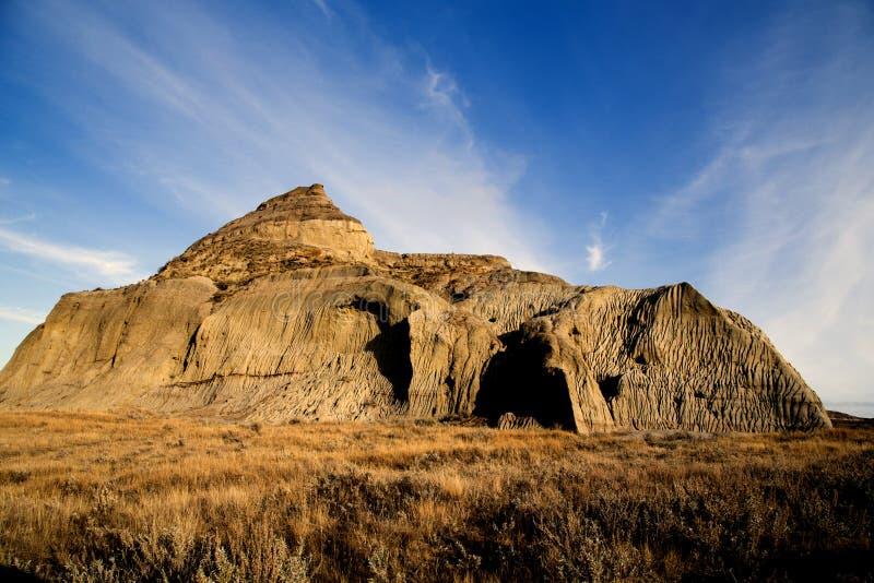 Canada Saskatchewan de bad-lands images libres de droits