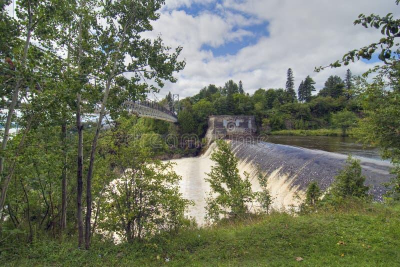 canada spadać Montmorency Quebec obraz stock