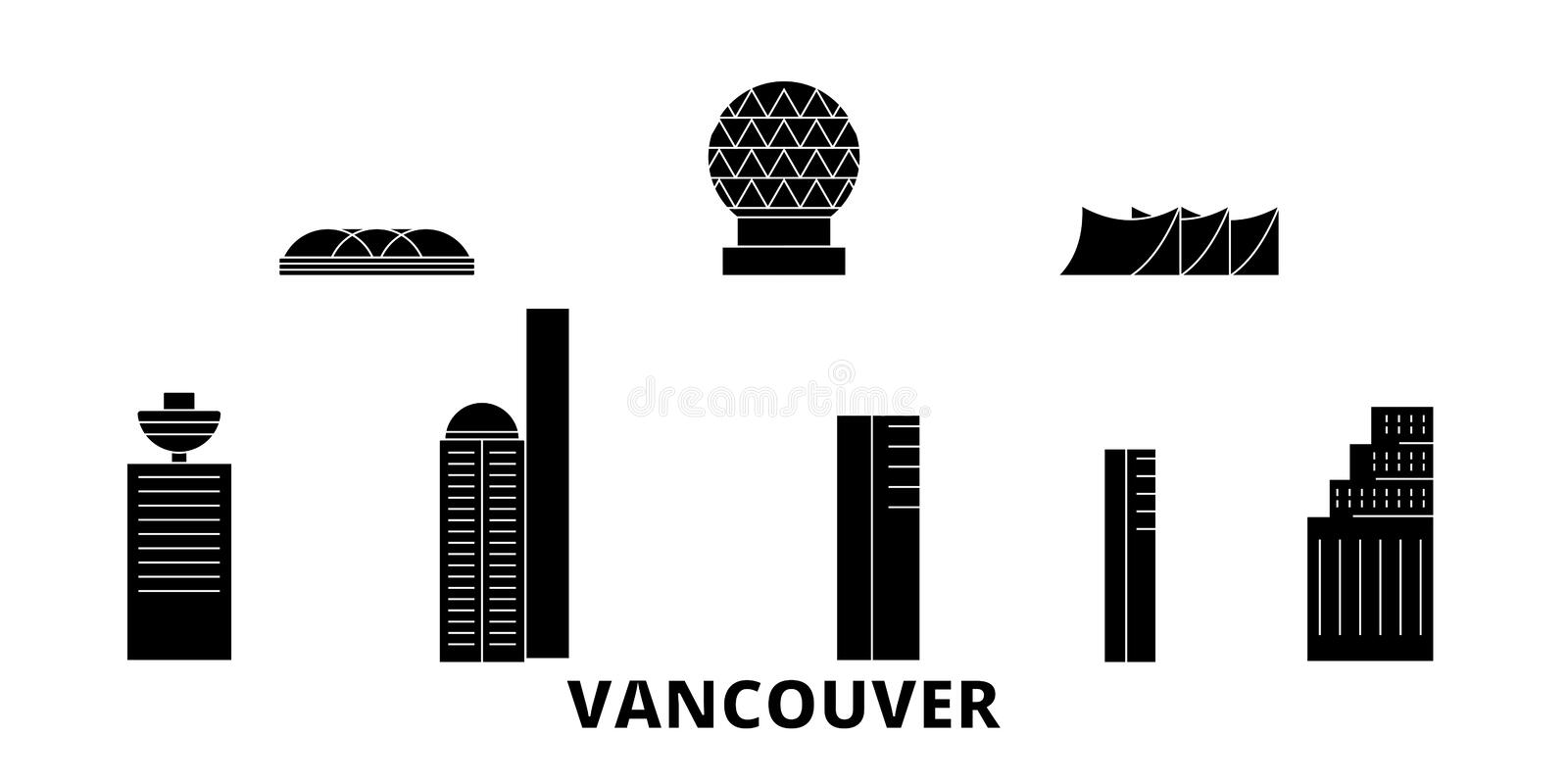 Canada Vancouver Stock Illustrations – 1,308 Canada Vancouver Stock