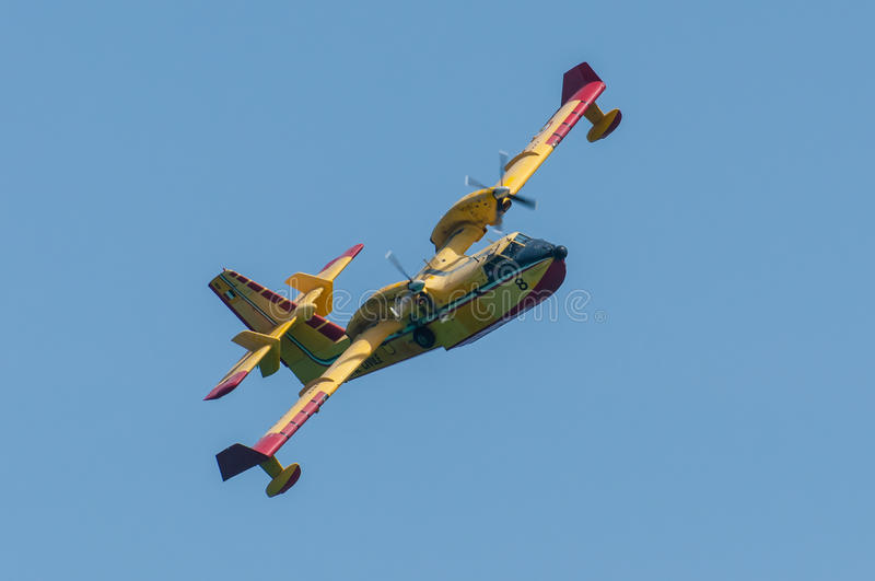 Canadair CL-415 Stock Photography