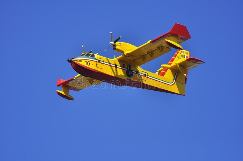 Download Canadair in flight. stock image. Image of turboprop, engine - 22546153