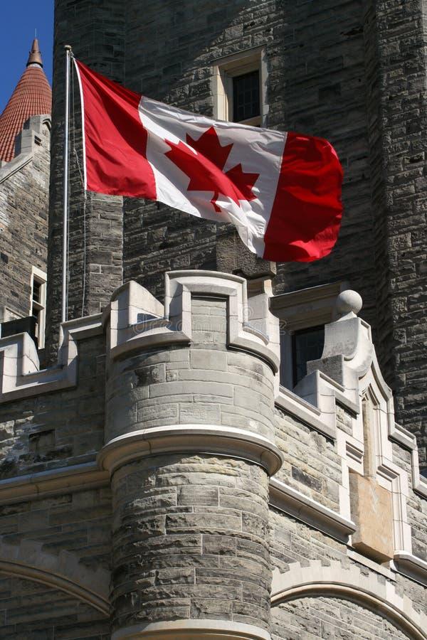 Canadees kasteel royalty-vrije stock foto's