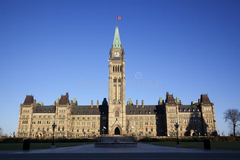 Canadees Parlementsgebouw stock foto