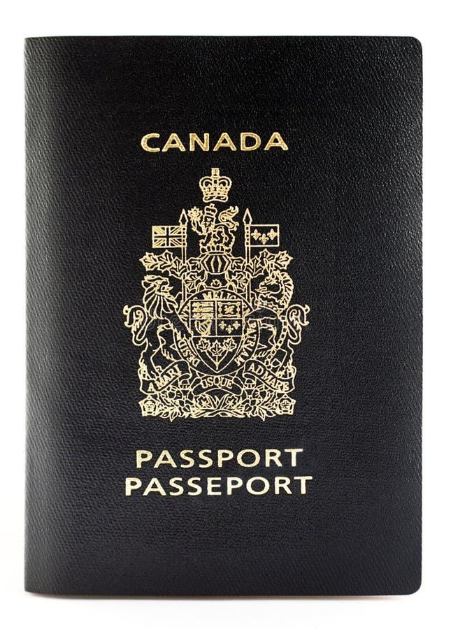 Canadees paspoort stock afbeelding