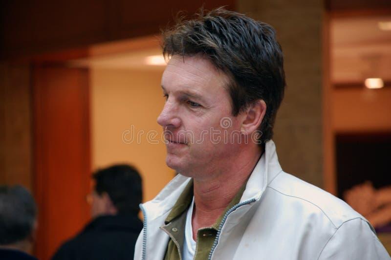 Canadese Acteur Chris Potter royalty-vrije stock foto's