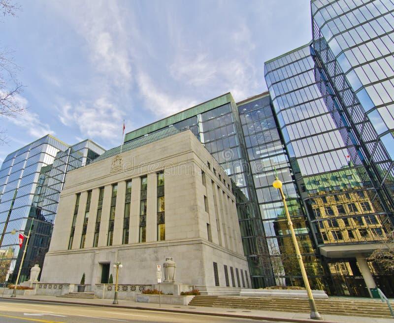 Canadese Bank van Canada, Ottawa Canada royalty-vrije stock afbeeldingen