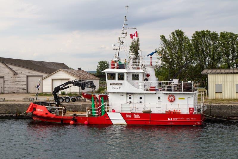 Canadese Kustwacht Ship stock afbeeldingen
