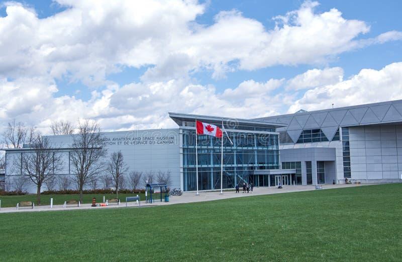 Canadese Luchtvaart en Ruimtemuseum in Ottawa royalty-vrije stock afbeelding