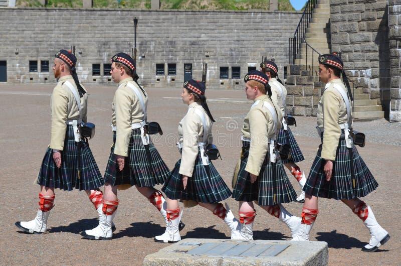 Canadese militair royalty-vrije stock afbeeldingen