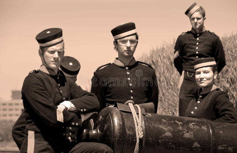 Canadese militair royalty-vrije stock foto's