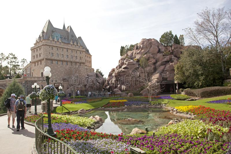 Canadese pavillion in Epcot royalty-vrije stock foto's