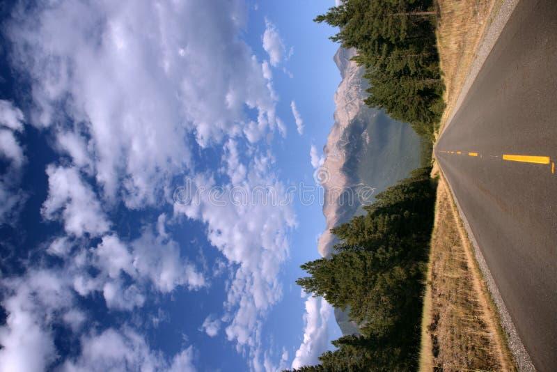 Canadese Rockies cloudscape royalty-vrije stock fotografie