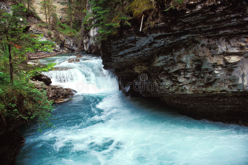 Canadese Rockies - dayscene 3 royalty-vrije stock afbeeldingen